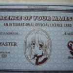 maid cafe memberscard