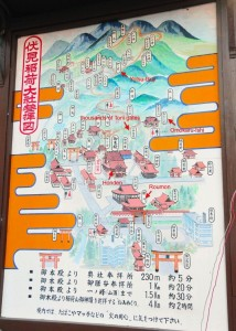 fushimi inari shrine map